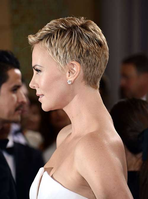 Charlize Theron Pixie Hair