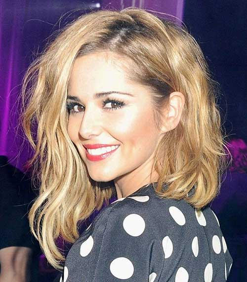 Cheryl Cole's Wavy Medium Hair