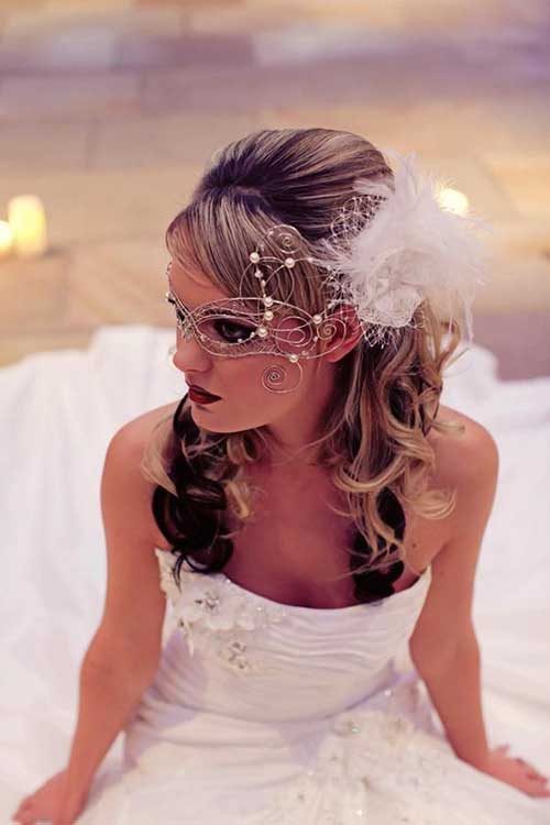 Best Chic Feather Wedding Hair Accessory Ideas