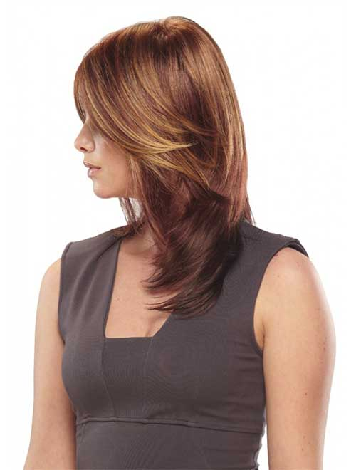 Color for Medium Layered Hairstyles