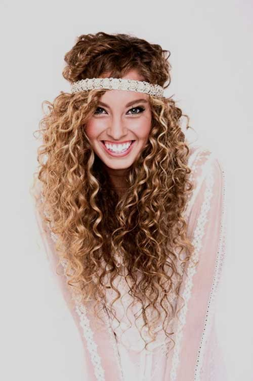 Astounding 35 Long Layered Curly Hair Hairstyles Amp Haircuts 2016 2017 Hairstyles For Women Draintrainus