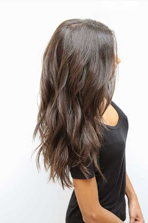 Cool Cut Layers Into Long Hair