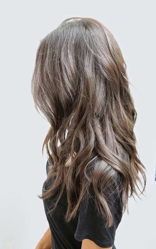 Cut Layers Into Long Hairstyles