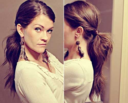 Cute And Easy Hairstyle For Long Hair