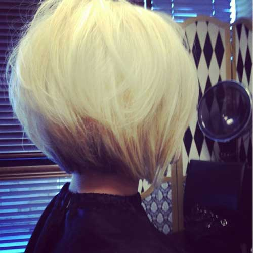 Cute Platinum Bob and Haircuts