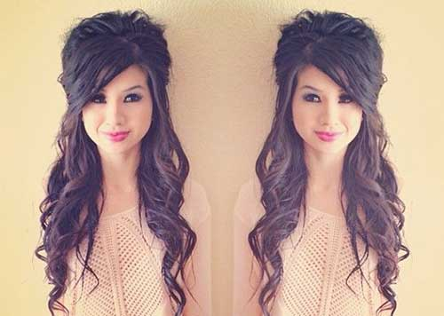 Stupendous Best New Cute Updo Hairstyles Hairstyles Amp Haircuts 2016 2017 Hairstyles For Women Draintrainus