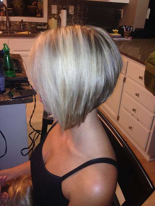 Stacked Bob Haircut for Women