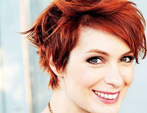 Cute Red Pixie Haircuts