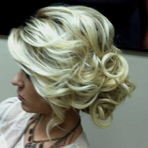 Cute Updos for Loose Curly Hair