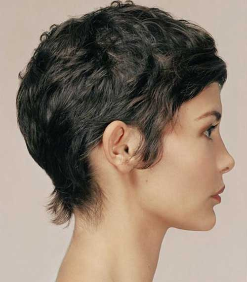 Nice Pixie Cut Curly Hair