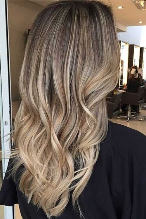 40 blonde and dark brown hair color ideas hairstyles haircuts dark blonde long hair idea for 2015 pmusecretfo Image collections