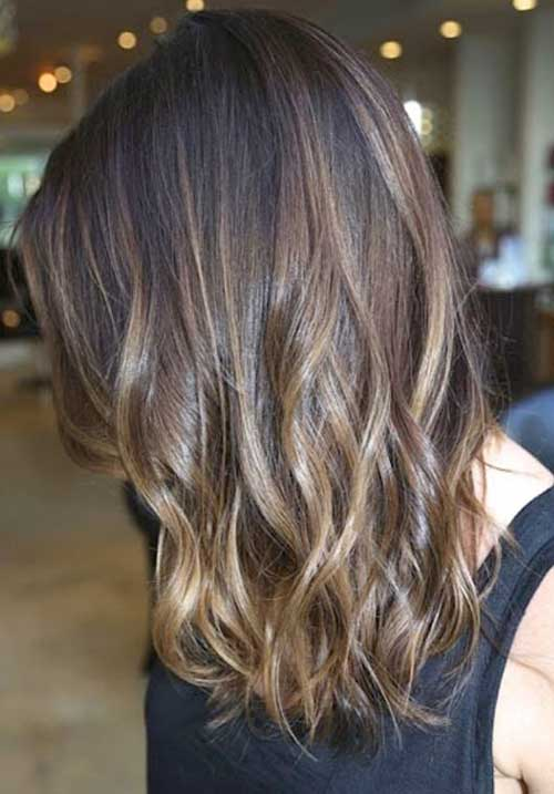 Best Dark Brown Balayage