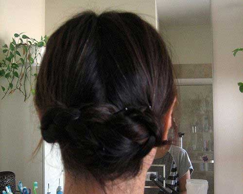 Best Easy Braided Updo Hairdo