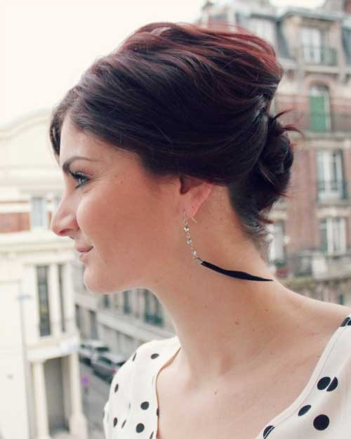 Easy Short Hair Updos for Women