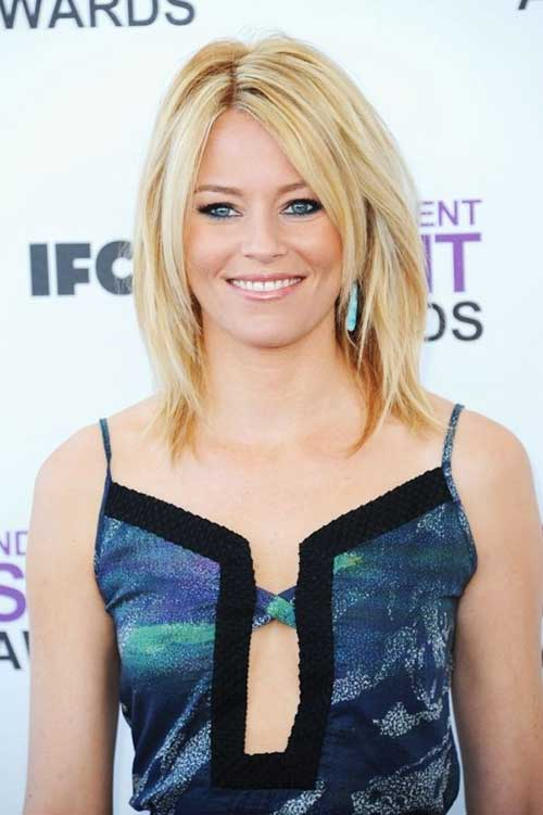 Elizabeth Banks Haircuts with Layers