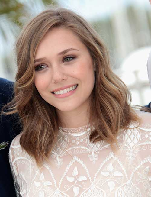Elizabeth Olsen Medium Hair