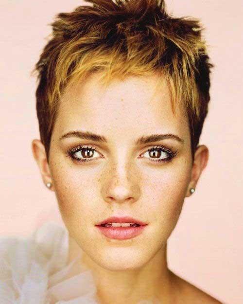 Emma Watson Pixie Hairstyles 2014