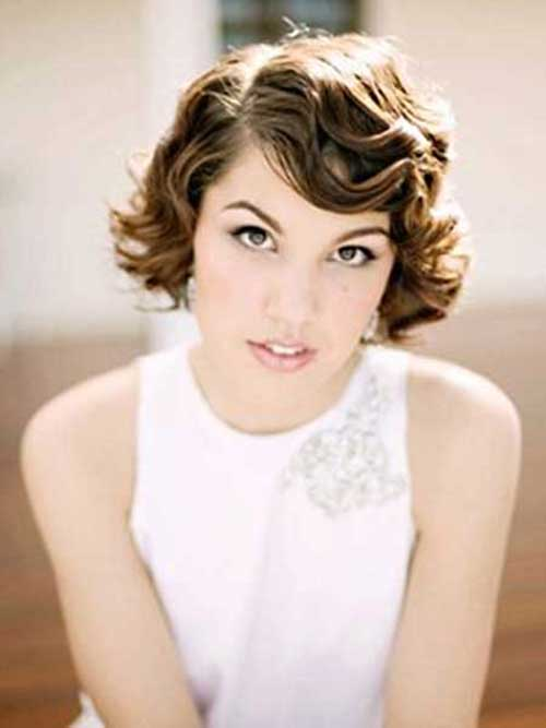 Finger Waves Short Wedding Hair Styles