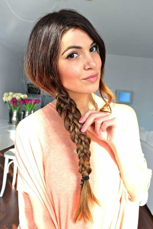Peachy 35 Long Hair Braids Styles Hairstyles Amp Haircuts 2016 2017 Hairstyle Inspiration Daily Dogsangcom
