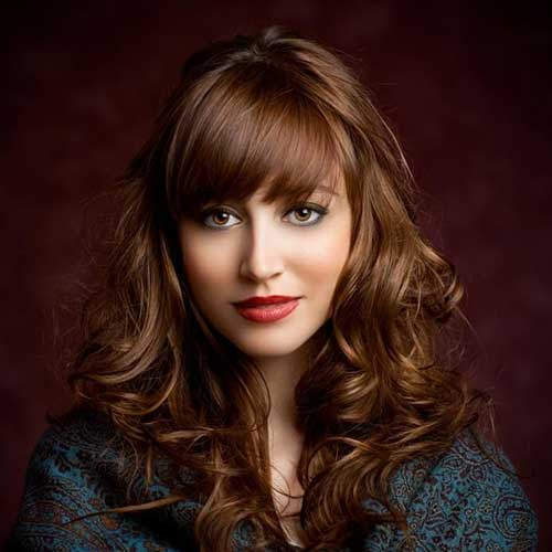 Best Fringe Curly Layered Wispy Bangs