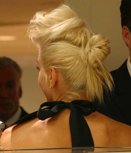 Gwen Stefani Different Updo Hair