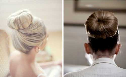 Best Hair Ideas for Wedding with Good Bun