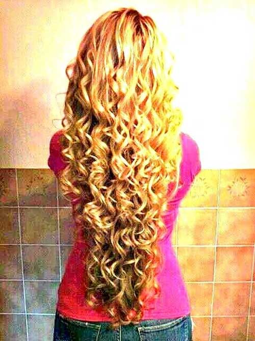 Cute Hair Styles for Long Curly Hair