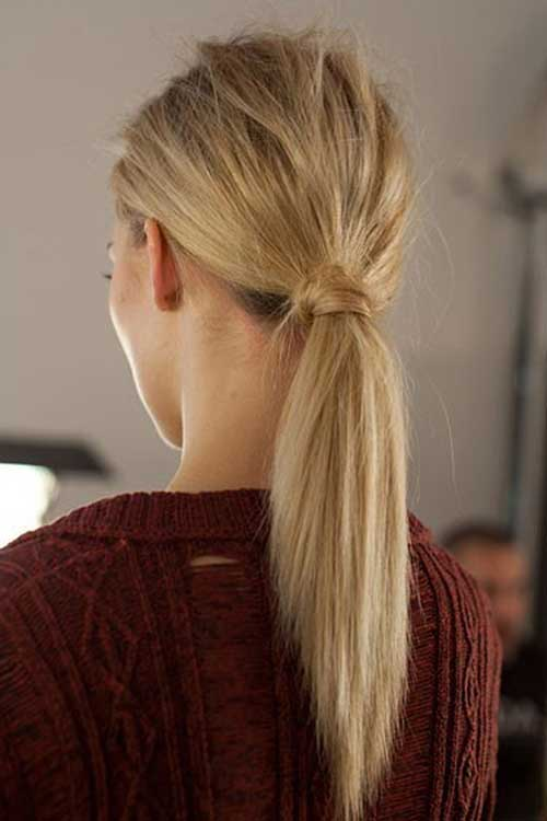 Long Hair Tie Ponytail Summer 2014-2015