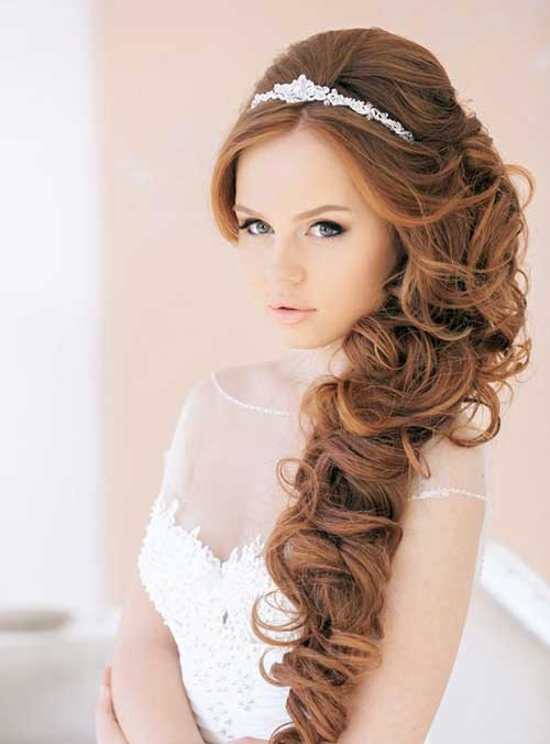New Glamorous Wedding Hairstyle
