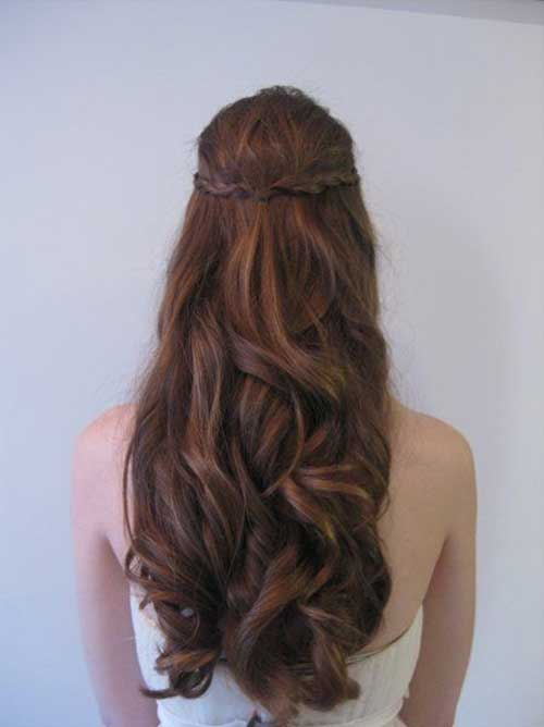 Hairstyles Bridesmaids Half Up for Summer 2014-2015