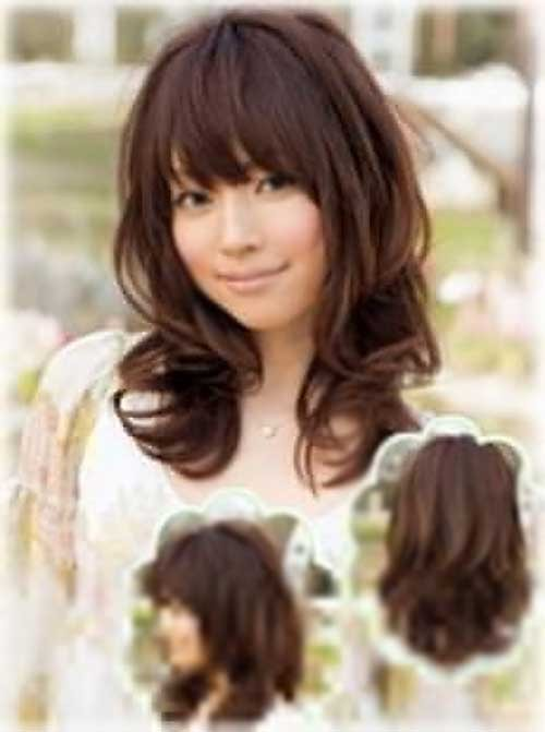 Super 30 Best Curly Hair With Bangs Hairstyles Amp Haircuts 2016 2017 Hairstyles For Women Draintrainus