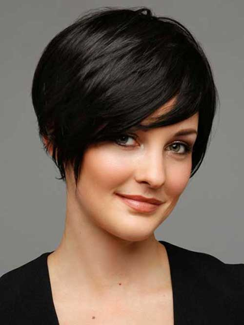Hairstyles for Short Pixie Dark Hair