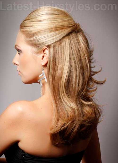 Gorgeous Half-Up Half-Down Hairstyles