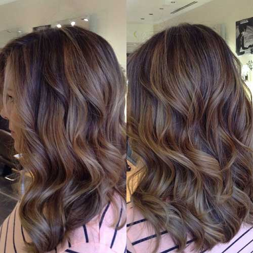 Honey Blonde Balayage Highlights