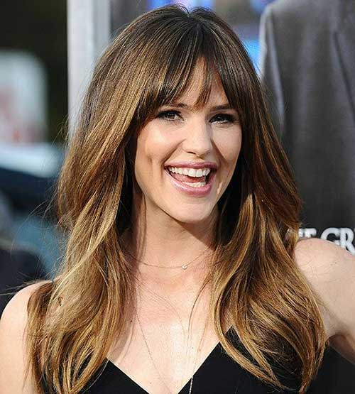Jennifer Garner Layered Hairstyles