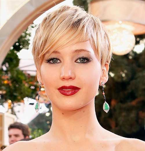 Jennifer Lawrence Gorgeous Pixie