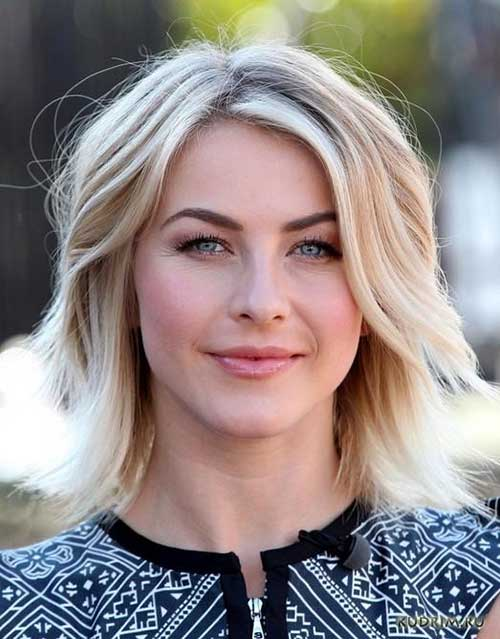 Julianne Hough Layered Haircuts