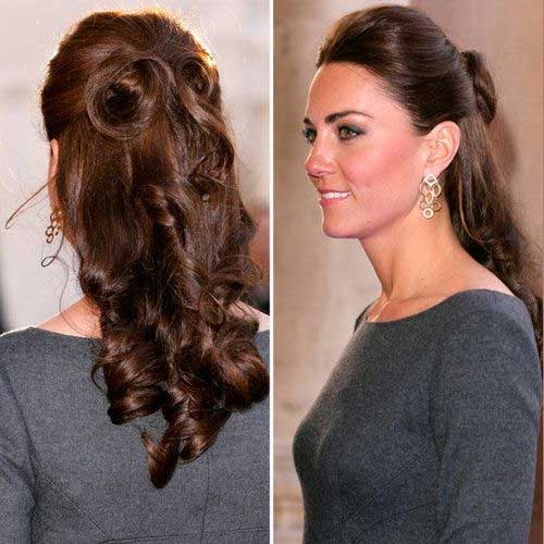 Kate Middleton's Curly Hair