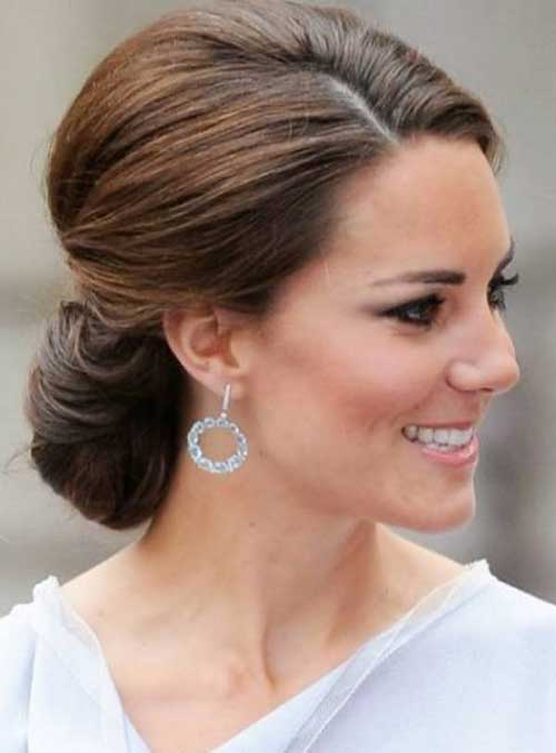 23 new updo long hair hairstyles haircuts 2016 2017 kate middletons chic updo hair pmusecretfo Gallery