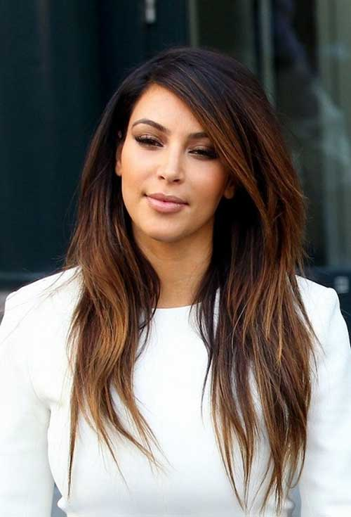 Kim Kardashian Hairstyles for Summer