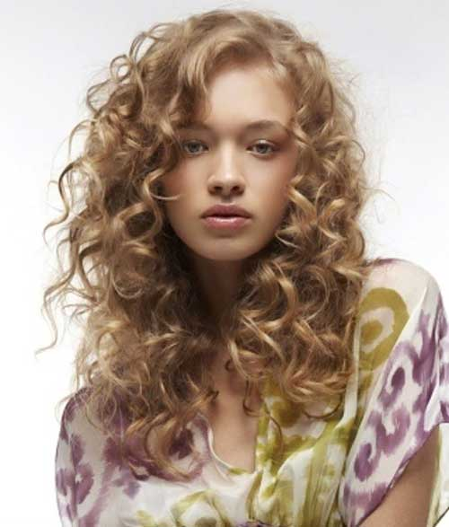 Admirable 35 Long Layered Curly Hair Hairstyles Amp Haircuts 2016 2017 Hairstyles For Women Draintrainus
