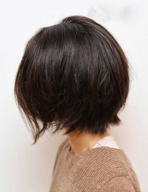 Layered Haircuts Medium Dark Hair