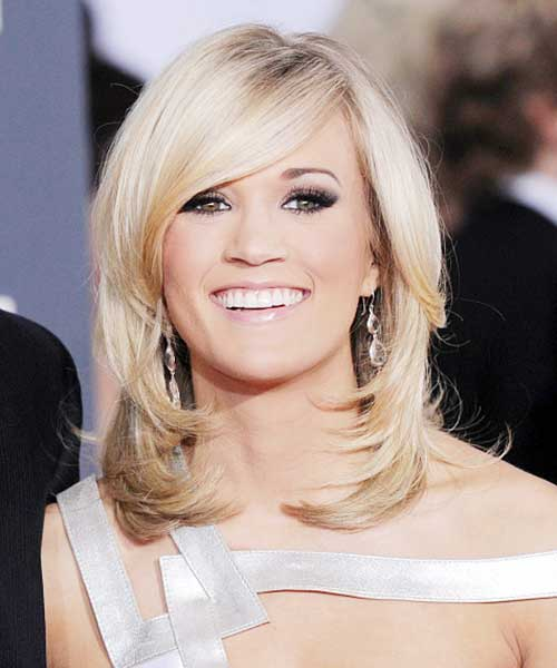 Layered Medium Blonde Hairstyles 2014-2015