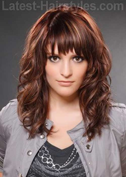 Magnificent 30 Best Curly Hair With Bangs Hairstyles Amp Haircuts 2016 2017 Short Hairstyles Gunalazisus