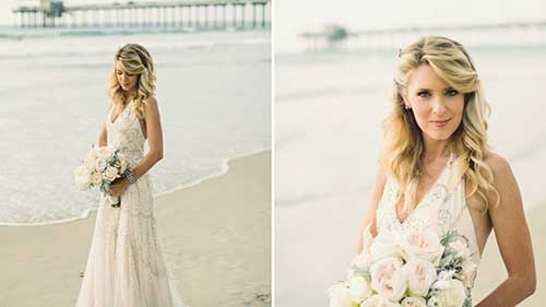 Great Long Beach Wedding Hairstyles for Blondes
