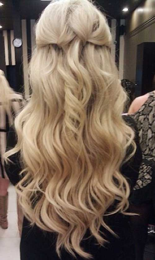 Best Long Blonde Hair From the Back