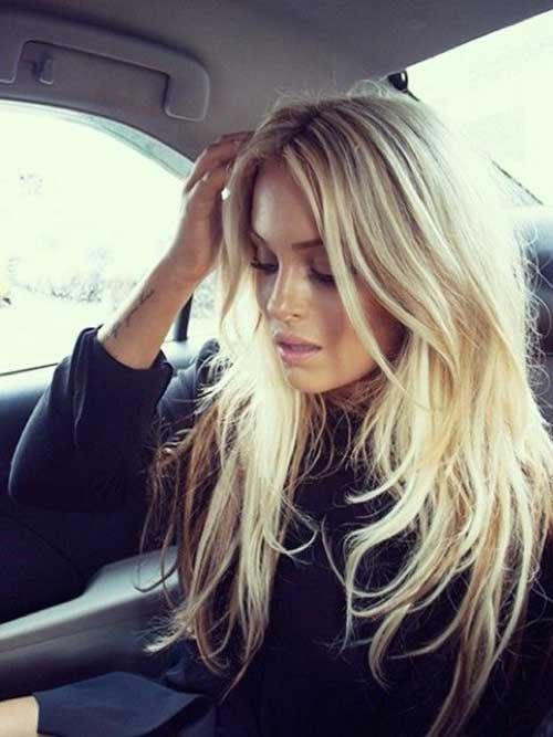 Best Long Blonde Layered Hair for Girls
