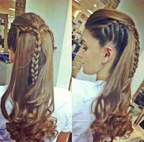 Astonishing 35 Long Hair Braids Styles Hairstyles Amp Haircuts 2016 2017 Short Hairstyles For Black Women Fulllsitofus