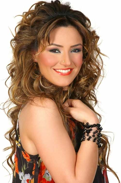 Cool 30 Best Curly Hair With Bangs Hairstyles Amp Haircuts 2016 2017 Hairstyles For Women Draintrainus