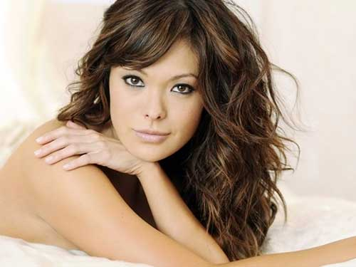 Enjoyable 30 Best Curly Hair With Bangs Hairstyles Amp Haircuts 2016 2017 Short Hairstyles For Black Women Fulllsitofus